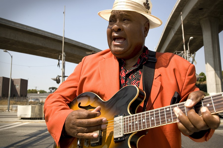 ARTHUR! ARTHUR! :  Soul, jazz, and bluesman Arthur Adams plays the SLO Vets Hall on March 17. - PHOTO COURTESY OF ARTHUR ADAMS