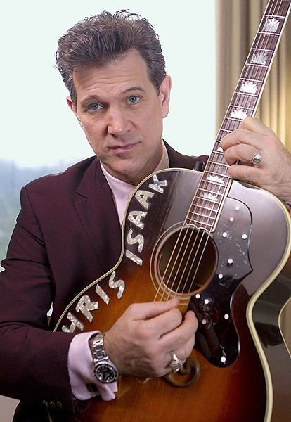 WICKED GAME:  Rocking crooner Chris Isaak plays Vina Robles Amphitheatre on Aug. 15. - PHOTO COURTESY OF CHRIS ISAAK