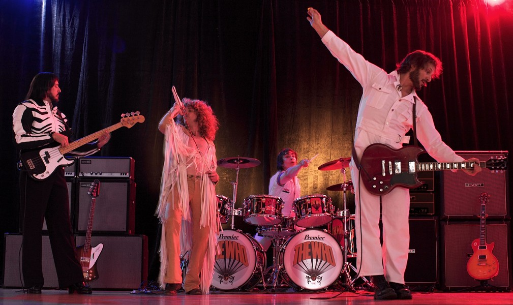 WHO ARE YOU?:  They really want to know. The Who Show tribute band performs at SLO Brew on Jan. 11. - PHOTO COURTESY OF THE WHO SHOW