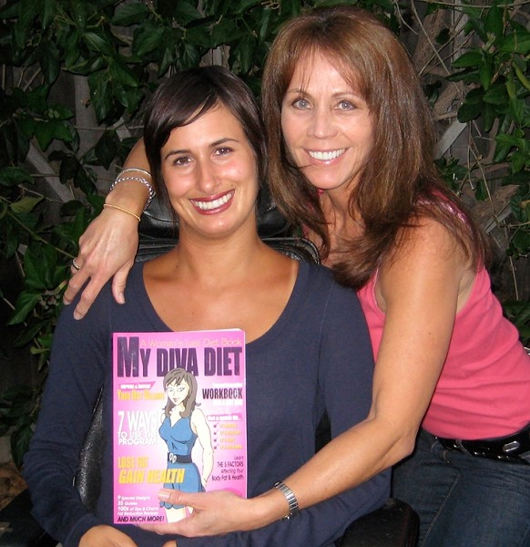HEALTHY BEAUTY :  Christine Lakatos (right) and contributing author Amber Garman take a holistic approach to dieting in their new guide for women. - PHOTO COURTESY OF CHRISTINE LAKATOS