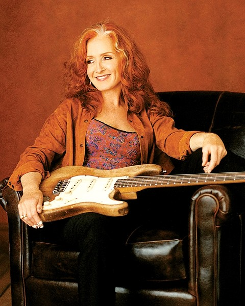 BIG RED :  Bonnie Raitt makes a rare Central Coast appearance on Oct. 5 at Avila Blues Resort. - PHOTO COURTESY OF BONNIE RAITT