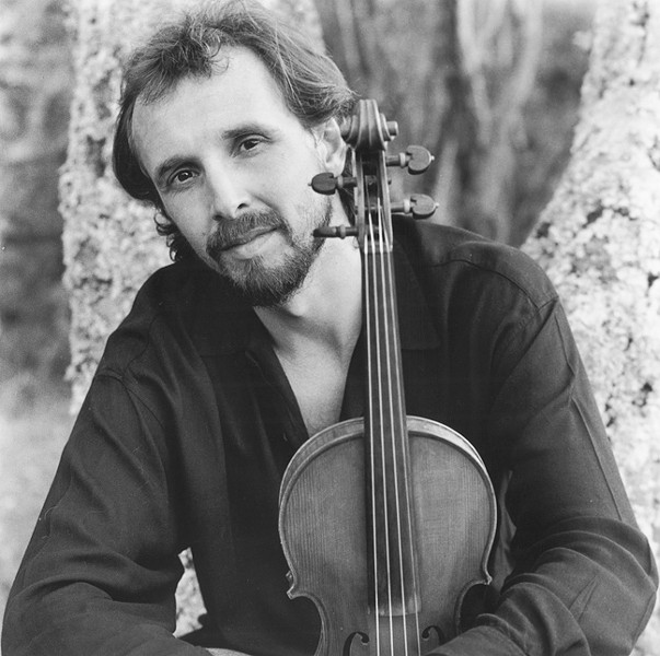 GYPSY FIDDLER :  Gilles Apap and the Transylvanian Mountain Boys hit the Red Barn Community Music Series at South Bay Community Park on May 16. - PHOTO COURTESY OF GILLES APAP