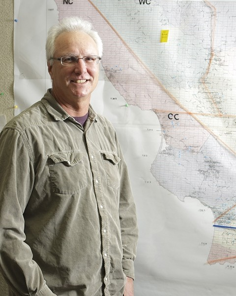 EDUCATE AND REGULATE:  Robert Stockel, an agricultural inspector/biologist III with the San Luis Obispo County Department of Agriculture, said that California's pest control regulation apparatus is the nation's strictest, fostering high compliance but copious paperwork. - PHOTO BY STEVE E. MILLER
