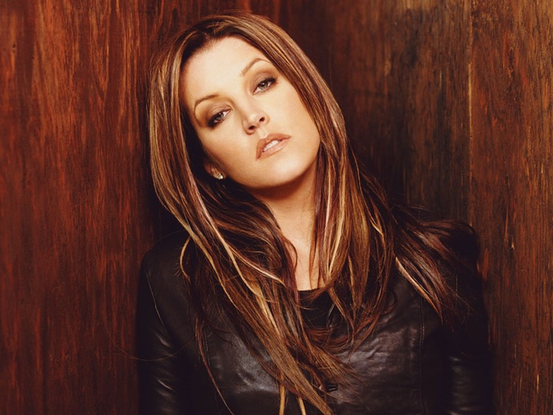THE KING'S KID:  Lisa Marie Presley plays SLO Brew on Nov. 1. - PHOTO COURTESY OF LISA MARIE PRESLEY