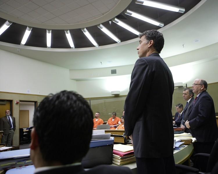 KEEP YOUR EARS CLEAN :  If Dan DeVaul turns down the probation sentence sought by the prosecution, he could face up to a year in jail and $1,000 in fines. Deputy District Attorney Craig Van Rooyen (pictured) has asked the court to make DeVaul clean the code violations on his San Luis Obispo ranch as part of probation. - PHOTO BY STEVE E. MILLER
