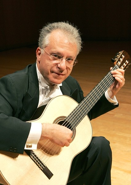 GUITAR MASTER :  Living classical guitar legend Pepe Romero will be the featured performer at the Sept. 9 opening of La Guitarra California Festival, which runs through Sept. 11. - PHOTO COURTESY OF PEPE ROMERO