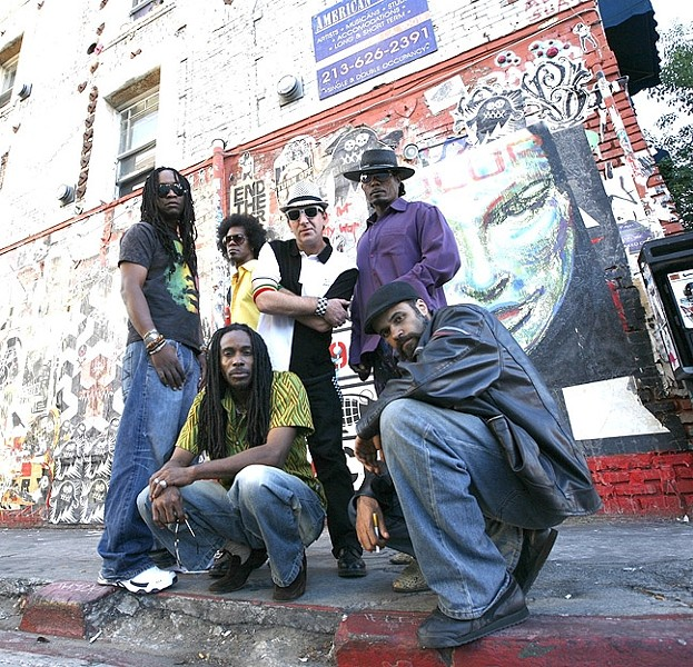 DREAD RANGERS:   LA reggae act Dread Daze plays Frog and Peach on May 22. - PHOTO COURTESY OF DREAD DAZE