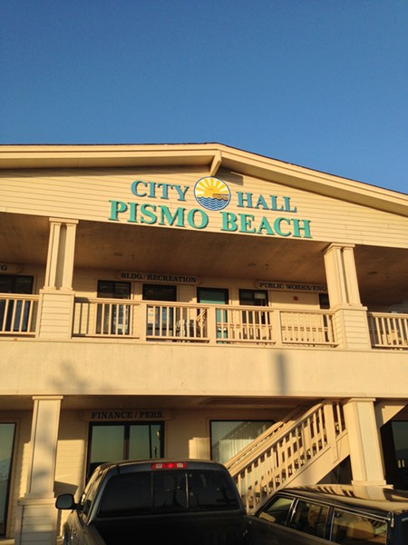 Pismo Beach City Hall - PHOTO BY RHYS HEYDEN