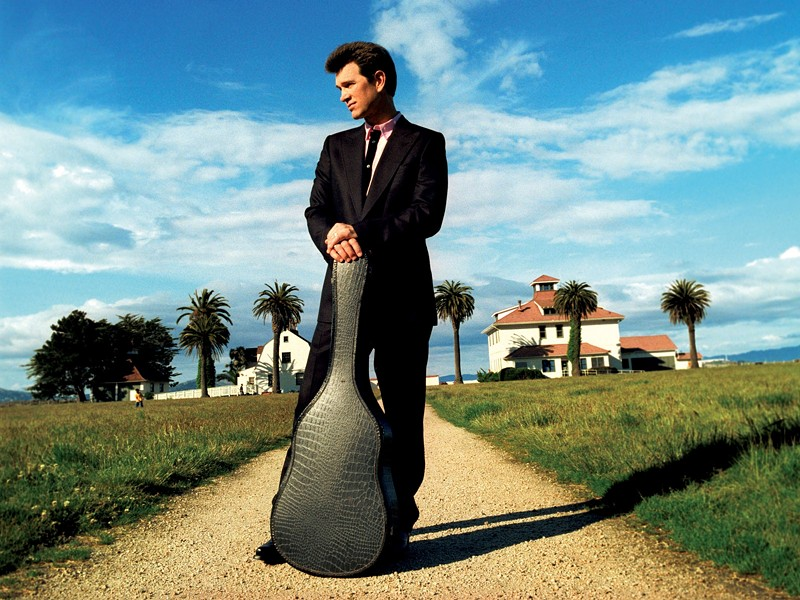 SMOOTH OPERATOR :  Legendary crooner Chris Isaak plays Oct. 3 at Avila Beach Gold Resort during the season closer, complete with a fireworks display. - PHOTO COURTESY OF CHRIS ISAAK