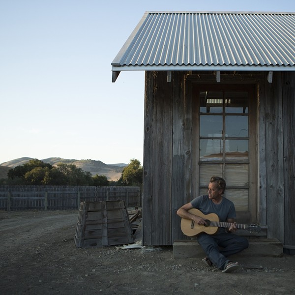 RIDING THE PIER:  Three-time world champion surfer Tom Curren will reveal his musical side when he headlines a Cayucos Pier benefit concert on June 21. - PHOTO COURTESY OF TOM CURREN