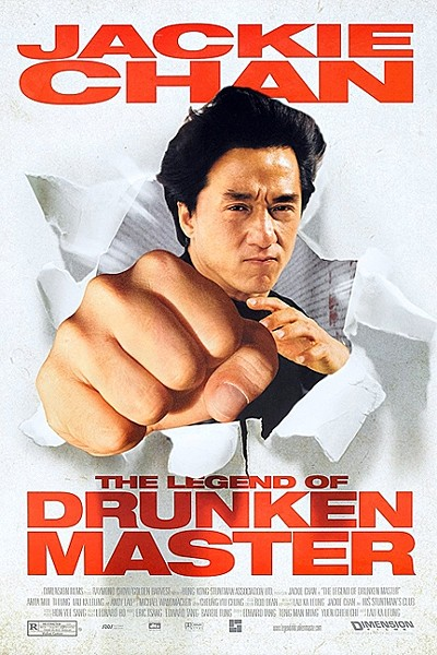 PUNCH DRUNK:  Jackie Chan's performance as an alcohol guzzling Kung Fu master mixes his serious martial arts chops with a knack for physical comedy. - PHOTO COURTESY OF DIMENSION FILMS