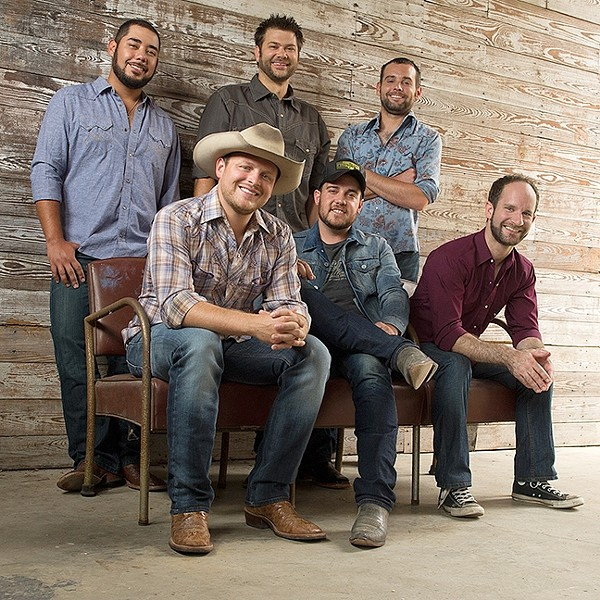 BUY YOUR TICKETS:  Rising country stars The Josh Abbott Band play the Fremont Theater on March 30, courtesy of Numbskull and Good Medicine Presents. - PHOTO COURTESY OF THE JOSH ABBOTT BAND