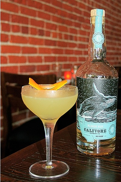 GIMME SOME SUGAR:  Calivore Spirits Co.'s blonde rum is made from U.S. grown sugar cane and aged in chardonnay barrels for extra oomph. - PHOTO BY HAYLEY THOMAS