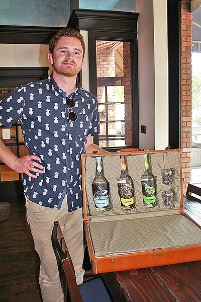 "WISH THEY ALL COULD BE CA BOOZE:  As the descendant of a family of moonshiners and an avid home distiller-turned-pro, Aaron Bergh has poured his heart and soul into making unique craft spirits that are distinctly ""California style."" - PHOTO BY HAYLEY THOMAS"