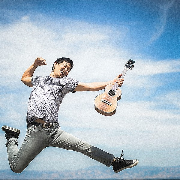 UKULELE WIZ:  The amazing Jake Shimabukuro plays the Fremont Theater on Nov. 30. - PHOTO COURTESY OFJAKE SHIMABUKURO