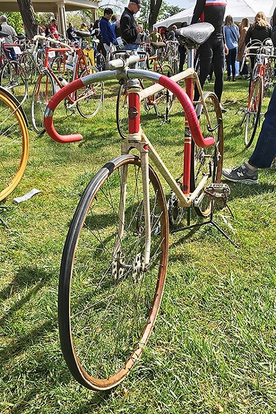 OLDIES BUT GOODIES:  All the bicycles involved in Eroica events have to be pre-1987 or older. - PHOTOS BY GLEN STARKEY