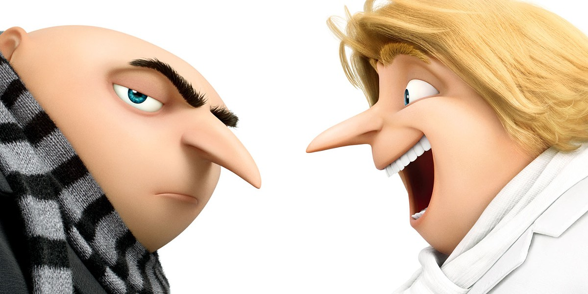 DOUBLE TROUBLE In Despicable Me 3, Gru and his long lost twin brother team up to help thwart a former child star's dastardly plan. - PHOTO COURTESY OF UNIVERSAL PICTURES