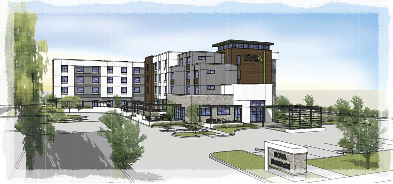HILTON SUITES Atascadero will get its first development at the vacant Del Rio Marketplace, a 120-room hotel. - PHOTO COURTESY OF THE CITY OF ATASCADERO