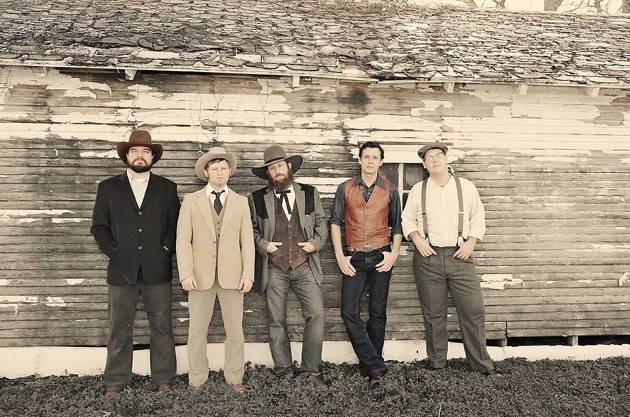 TRUE GRIT Red Dirt country rockers the Turnpike Troubadours play the Fremont Theater on Aug. 6. - PHOTO COURTESY OF TURNPIKE TROUBADOURS