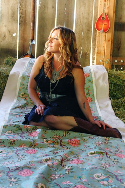 COYOTE FEST! One dozen acts, including Natalie Haskins (pictured) play the mostly local Coyote Festival, on Aug. 20 at the See Canyon Fruit Ranch. - PHOTO COURTESY OF MARISSA KNUCKLES