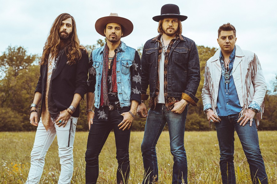 """COOL COUNTRY A Thousand Horses, dubbed """"country's coolest band"""" by Rolling Stone Country, is one of three acts playing Vina Robles Amphitheatre for KJUG FM 98.1's Back to School Bash on Aug. 26. - PHOTO COURTESY OF FORD FAIRCHILD"""