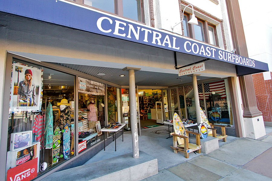 SURF LEGACY Scott Smith takes over Central Coast Surfboards as the business that started in a Cal Poly dorm room turns 42. - PHOTO COURTESY OF CCS