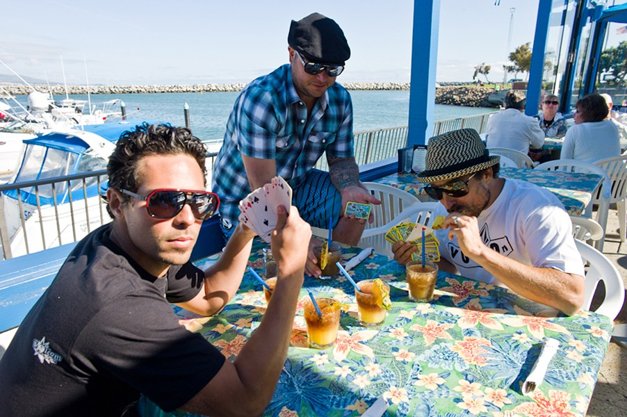 THE GOOD LIFE Pepper brings their alt-reggae sounds to Vina Robles Amphitheatre on Sept. 21. - PHOTO COURTESY OF PEPPER