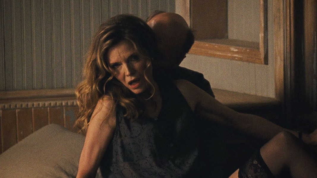 MAN, WOMAN A man (Ed Harris) and woman (Michelle Pfeiffer) show up and immediately disrupt a couple's household. - PHOTO COURTESY OF PROTOZOA PICTURES