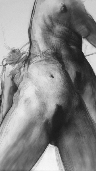 LABELS New York artist Gabriela Handal's charcoal drawing, Self Portrait as a Whore 1, is a striking representation of the female form, and a reminder of the stereotypes and labels that are put on women, but not necessarily men. - IMAGE COURTESY OF GABRIELA HANDAL