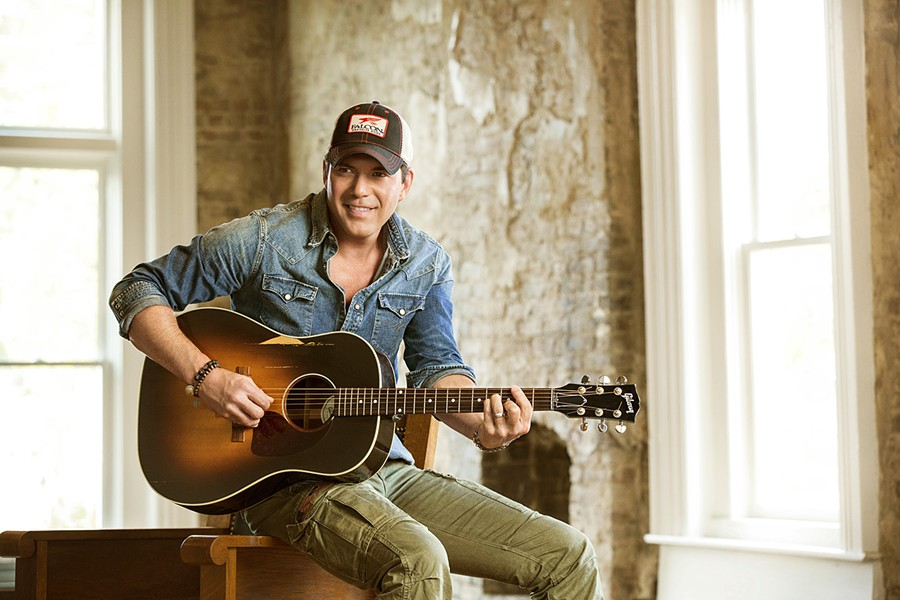 AMERICAN THROUGH AND THROUGH Country star Rodney Atkins plays Tooth & Nail Winery on Oct. 12, bringing his patriotic optimism. - PHOTO COURTESY OF RODNEY ATKINS
