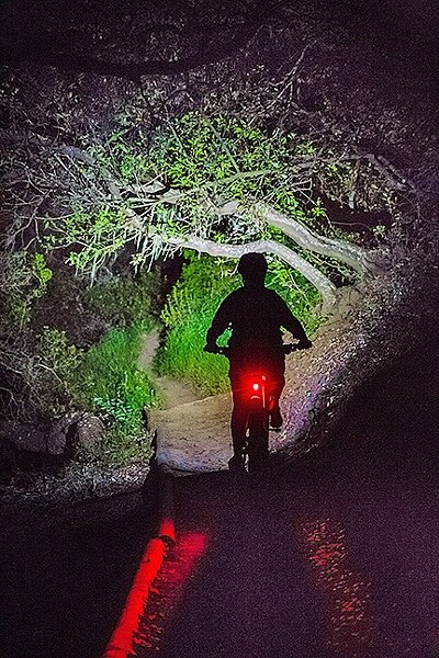 NIGHT RIDE The SLO City Council continued a meeting to decide whether to adopt a pilot program for night recreation on Cerro San Luis Mountain. - FILE PHOTO BY JAYSON MELLOM