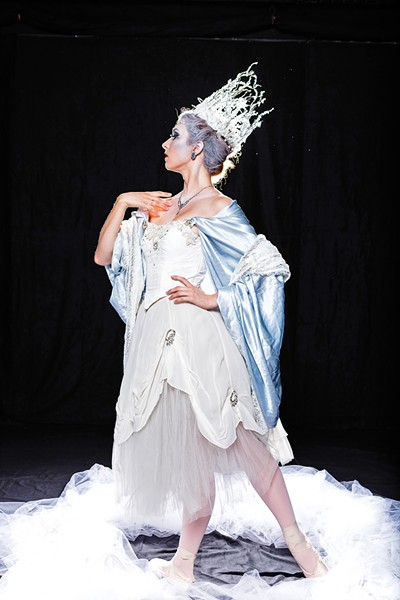 ICE COLD When the snow queen (Michelle McLaughlin, pictured) changes Kay for the worse, his best friend Greta must save him. - PHOTO COURTESY OF BALLET THEATRE SAN LUIS OBISPO