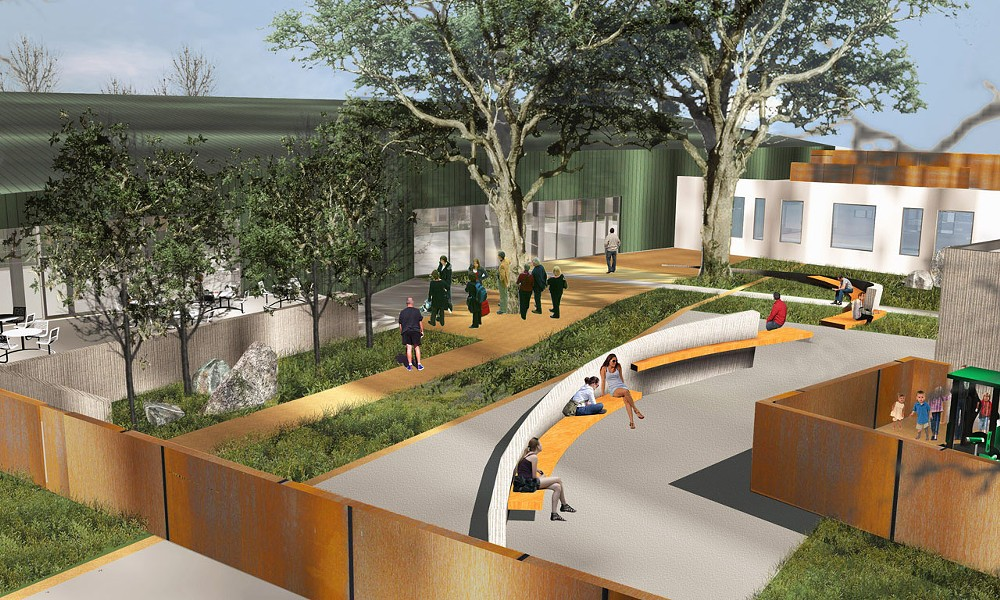 "NEED FOR DETOX SLO County and the Community Action Partnership of SLO are partnering on a new detoxification facility at the ""40 Prado"" homeless center, currently under construction. - IMAGE COURTESY OF THE COMMUNITY ACTION PARTNERSHIP OF SLO"