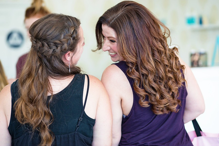 COOL 'DO SLO Blowout Bar offers services like blowouts, formal up dos, loose curls, and fancy braids. - PHOTO COURTESY OF SLO BLOWOUT BAR
