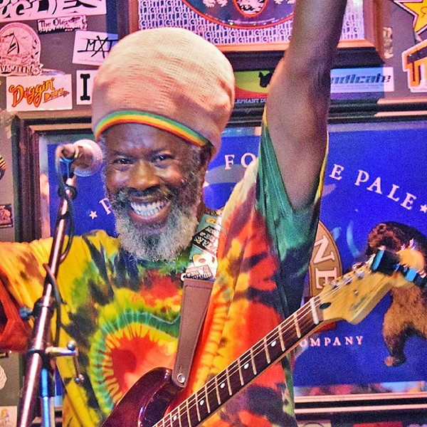 BLESSINGS FOR BOB Native Jamaican reggae artist Ras Danny, who now lives in SLO Town, will play his annual Bob Marley tribute concerts this week, on Feb. 2 at Frog and Peach; Feb. 5 at La Palapa; and Feb. 6 at SLO Brew. - PHOTO COURTESY OF RAS DANNY