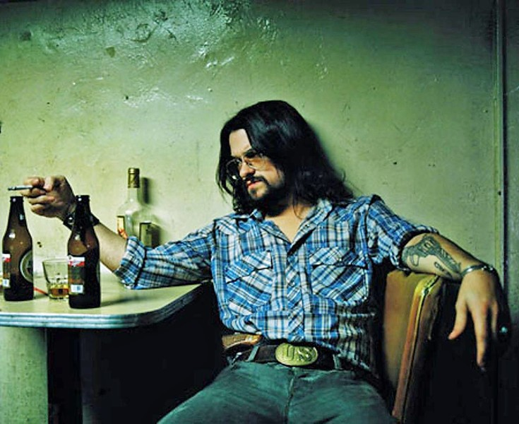 OUTLAW COUNTRY Shooter Jennings, son of Waylon, plays the Fremont Theater on Feb. 21. - PHOTO COURTESY OF SHOOTER JENNINGS