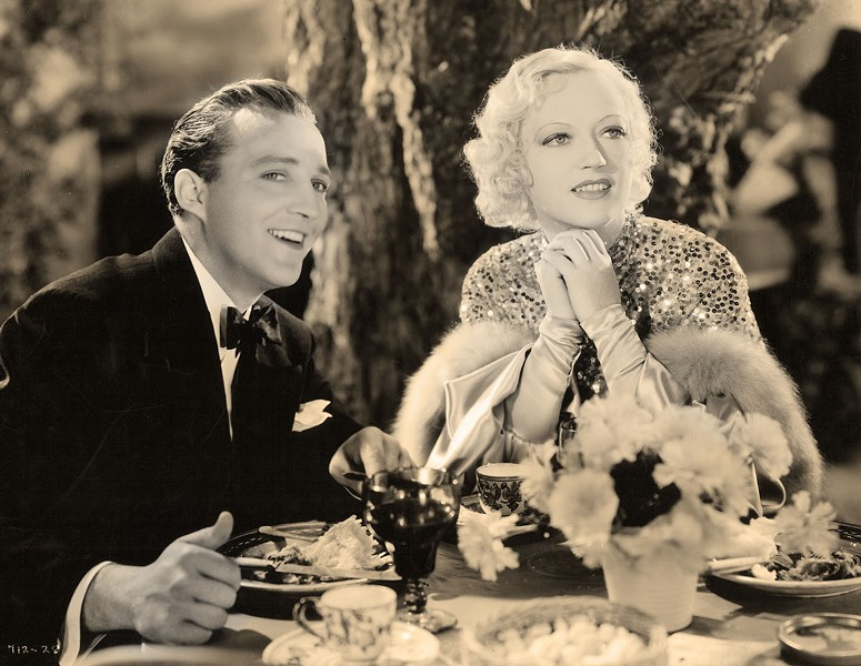THE LADY OF THE CASTLE Marion Davies (right), actress and mistress of William Randolph Hearst, starred in the 1933 film Going Hollywood with Bing Crosby. The classic romantic flick closed out the first ever Cambria Film Festival on Feb. 11. - IMAGE COURTESY OF COSMIPOLOITAN PRODUCTIONS AND MGM