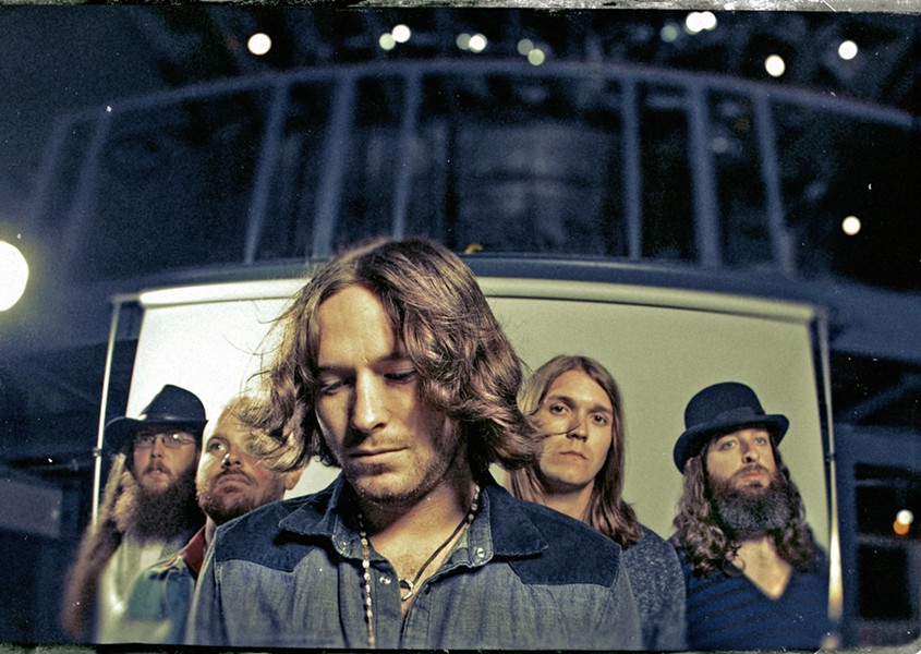 SOUTHERN GENTS Whiskey Myers hits The Siren on April 4, playing Southern rock, red dirt, and country music. - PHOTO COURTESY OF WHISKEY MYERS