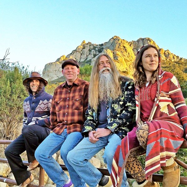 GET GROOVY Zen Mountain Poets have some upcoming shows with new bassist Chad Hoffman, on March 31 at Luna Red; and April 7 at The Educated Gardner, among others. - PHOTO COURTESY OF ZEN MOUNTAIN POETS