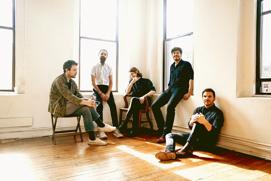 SEATTLE SCAMPS On April 18, Fleet Foxes plays the Madonna Expo Center, delivering their contagiously and relentlessly hooky pop nuggets with harmony vocals. - PHOTO COURTESY OF FLEET FOXES
