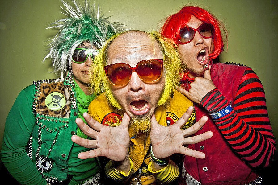 MUSIC ACTION COMIC KUNG FU ANIMATION! Peelander-Z brings its hilarious punk rock to The Siren on April 17. - PHOTO COURTESY OF PEELANDER-Z