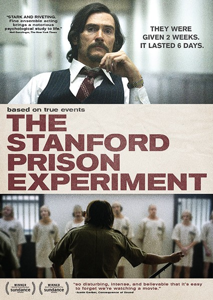EXPERIMENT GONE AWRY Stanford Prison Experiment tells the real-life story of psychologist Phillip Zimbardo's infamous 1971 simulation of a jail environment. - PHOTO COURTESY OF IFC FILMS