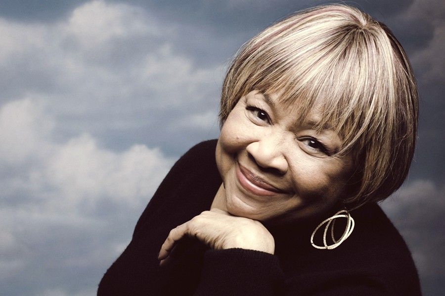 R&B GODDESS Gospel, R&B, and blues legend Mavis Staples closes out the final day of the Live Oak Music Festival, June 15 through 17, at Camp Live Oak. - PHOTO COURTESY OF MAVIS STAPLES