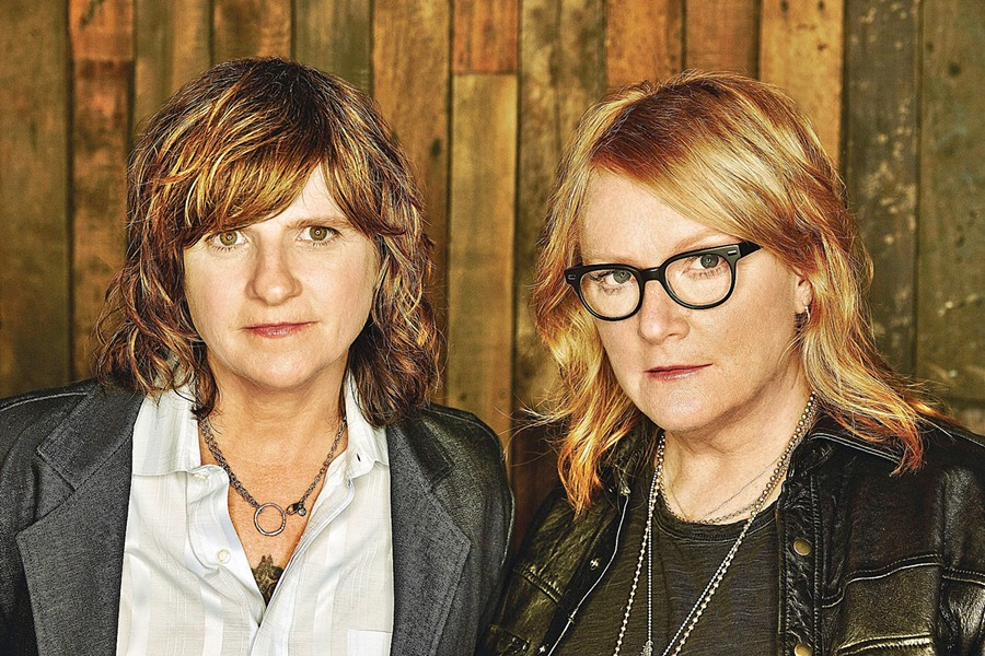 'CLOSER TO FINE' Indigo Girls bring their excellent songwriting, stunning voices, and stunning musicianship to Fremont Theater on June 30. - PHOTO COURTESY OF INDIGO GIRLS
