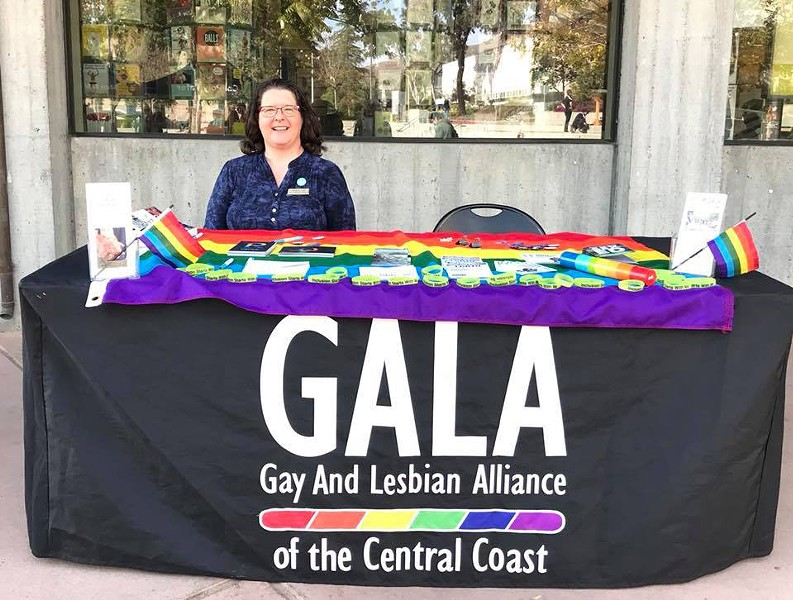 WORKING TOGETHER Newly appointed executive director of GALA, Michelle Call, is hoping to create a bigger support network for the LGBTQ community. - PHOTO COURTESY OF MICHELLE CALL