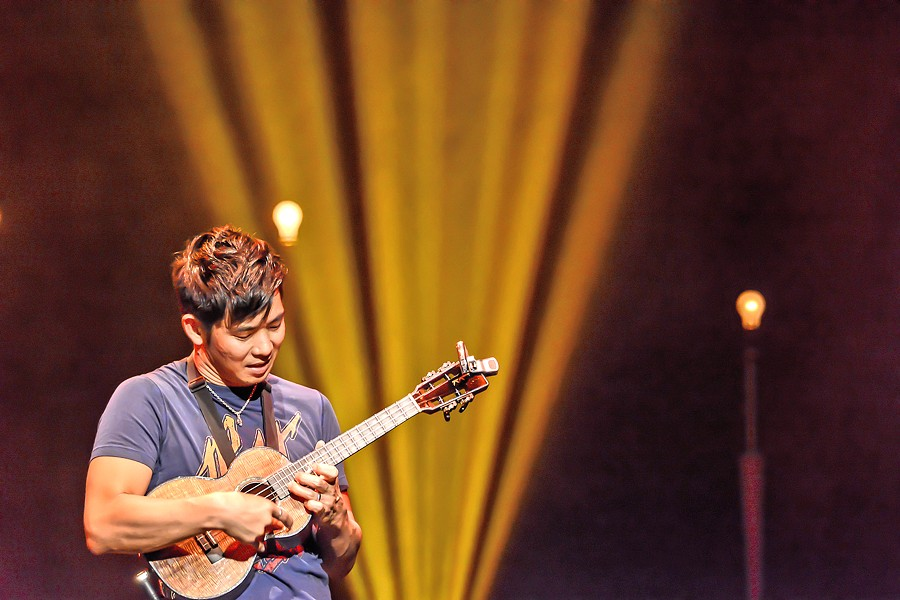 OVER THE RAINBOW Ukulele virtuoso Jake Shimabukuro returns to the Central Coast on July 22, to play the Fremont Theater. - PHOTO COURTESY OF KAYOKO YAMAMOTO