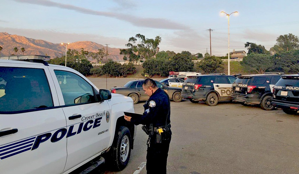 A LEAN BLUE LINE A recent audit of the Grover Beach Police Department recommended the agency hire additional officers. The department's staffing has remained virtually unchanged for a decade, according to the audit. - PHOTO COURTESY OF THE CITY OF GROVER BEACH