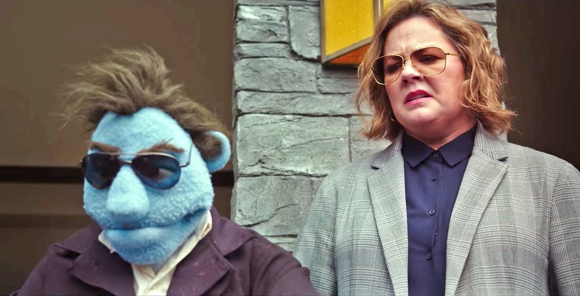 SPILLED STUFFING In a world where puppets and humans warily coexist, private detective Connie Edwards (Melissa McCarthy) tries to find out who's killing puppets, in The Happytime Murders. - PHOTO COURTESY OF BLACK BEAR PICTURES