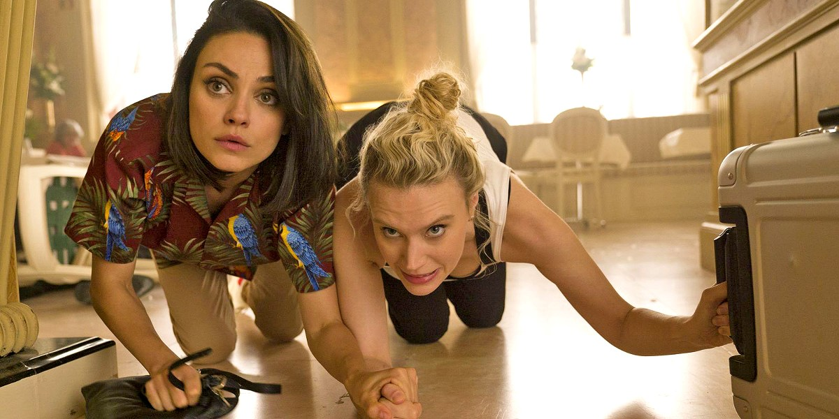 BEGINNERS Besties Audrey (Mila Kunis) and Morgan (Kate McKinnon) are thrust into the spy world and discover they have an affinity for espionage. - PHOTO COURTESY OF LIONSGATE
