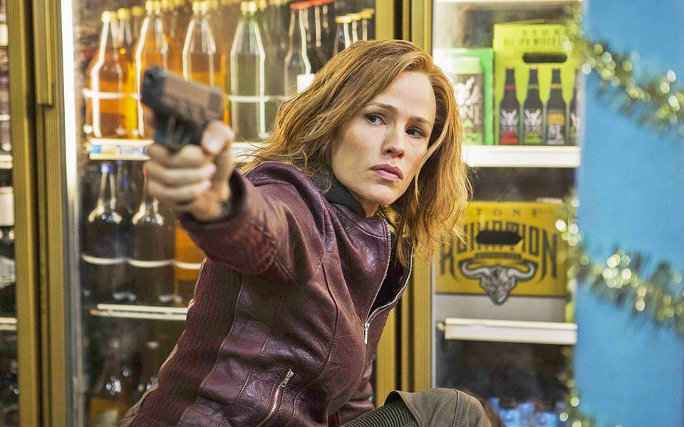 VIGILANTE After her husband and daughter are killed in a drive-by shooting, Riley North (Jennifer Garner) vows to get the justice she deserves, in Peppermint. - PHOTO COURTESY OF LAKESHORE ENTERTAINMENT
